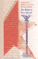The Right to Free Speech PDF