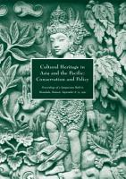 Cultural Heritage in Asia and the Pacific PDF