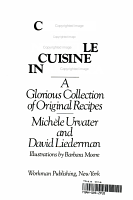 Cooking the Nouvelle Cuisine in America PDF
