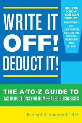 Write It Off  Deduct It