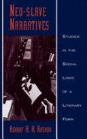 Neo-slave Narratives