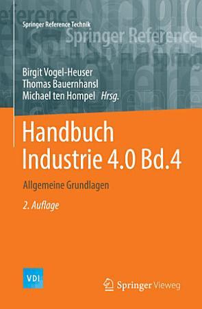 Handbuch Industrie 4 0 Bd 4 PDF