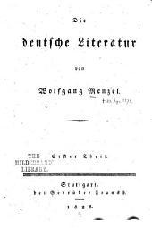 Die deutsche literatur: Bände 1-2