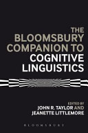 Bloomsbury Companion to Cognitive Linguistics