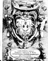 Sanctitatis gigas panegyrico expressus in festo S. Iuonis presb. pauperum aduocati ad S.R.E. card. ab Alexandro Petruccio Eretino sem. Rom. cler. 14 Kal. Iunij an. 1643