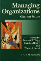 Managing Organizations PDF