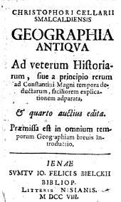 Geographia antiqua, quarto auctius edita
