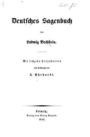 Deutsches Sagenbuch     Mit sechzehn Holzschnitten nach Zeichnungen von Ehrhardt PDF