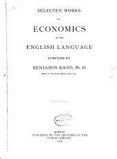 Selected works on economics in the English language