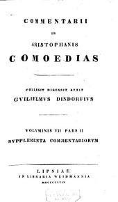 Aristophanous Komoidiai. Aristophaneis comoediae ...