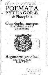 Poemata Pythagorae & Phocylidis