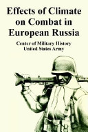 Effects of Climate on Combat in European Russia PDF