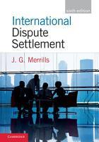 International Dispute Settlement PDF