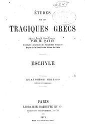 Études sur les tragiques grecs: Théâtre d'Euripide (suite) livre v. Jugements des critiques sur la tragédie grecque. 1873
