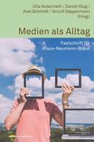 Medien als Alltag PDF