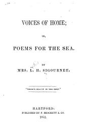 Voices of home: or, Poems for the sea