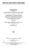 Social Security Reform PDF