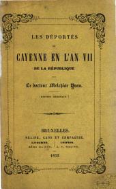 Les déportés; ou, Cayenne en l'an VII de la République