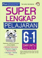 Super Lengkap Pelajaran 6 In 1 SMP MTS Kelas 7  8    9 PDF