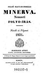 Felsö Magyar Orszagi Minerva ... (Minerva von Ober-Ungarn.) hung