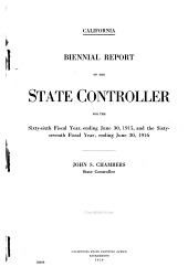 Report of the State Controller