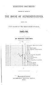 House Documents: Volume 8; Volume 226