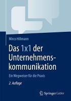 Das 1x1 der Unternehmenskommunikation PDF