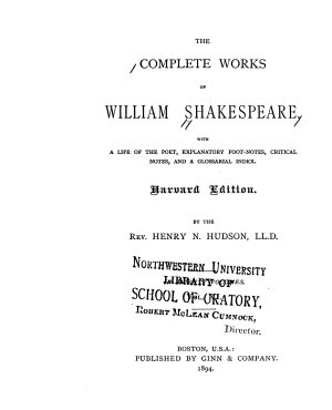 The Complete Works of William Shakespeare  Merry wives of Windsor  Measure for measure