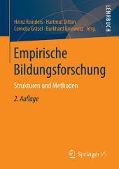 Empirische Bildungsforschung: Strukturen und Methoden, Ausgabe 2