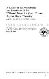 Geological Survey Bulletin: Issue 1523
