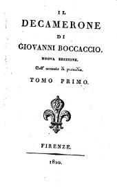 Il Decamerone di Giovanni Boccaccio: Volume 1