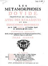Les met́amorphoses d'Ovide: Volume2