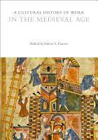 A Cultural History of Work in the Medieval Age PDF