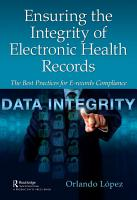 Ensuring the Integrity of Electronic Health Records PDF