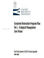Ecosystem Restoration Program Plan PDF