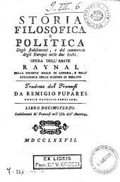 *Storia filosofica e politica degli europei nelle due Indie: 13: Stabilimenti de' Francesi nell'isole dell'America