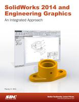 SolidWorks 2014 and Engineering Graphics   An Integrated Approach PDF