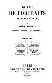 Galerie de portraits du XVIIIe siècle: Volume1