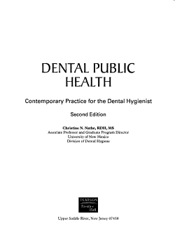 Dental Public Health PDF