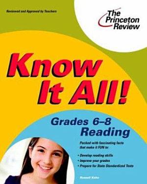 Know It All  Grades 6 8 Reading PDF
