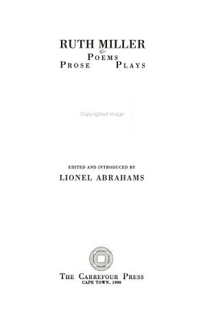 Poems  Prose  Plays PDF