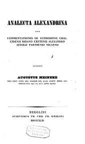 Analecta alexandrina