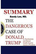 Dangerous Case Of Donald Trump Book PDF