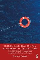 Helping Skills Training for Nonprofessional Counselors PDF
