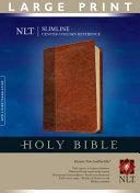 Slimline Center Column Reference Bible NLT Large Print