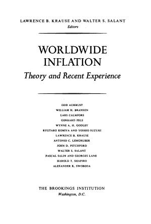 Worldwide Inflation PDF