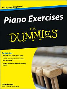 Piano Exercises For Dummies Book