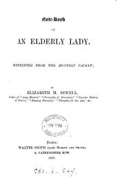 Note-book of an elderly lady