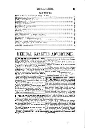 The New York Medical Gazette and Journal of Health PDF