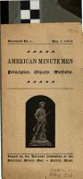 American Minute Men PDF